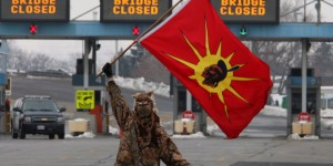 Winter 2012/13: Akwesasne Border Closing